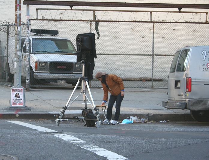 Human Stream - Camera Walk - Bowery & Great Jones S.W.C.